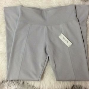 Vivi Diva light gray work out legging pant